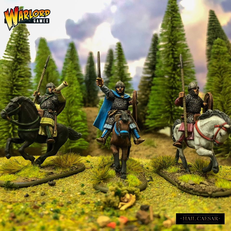 Norman Mounted Knights Command - Warlord Games.jpg