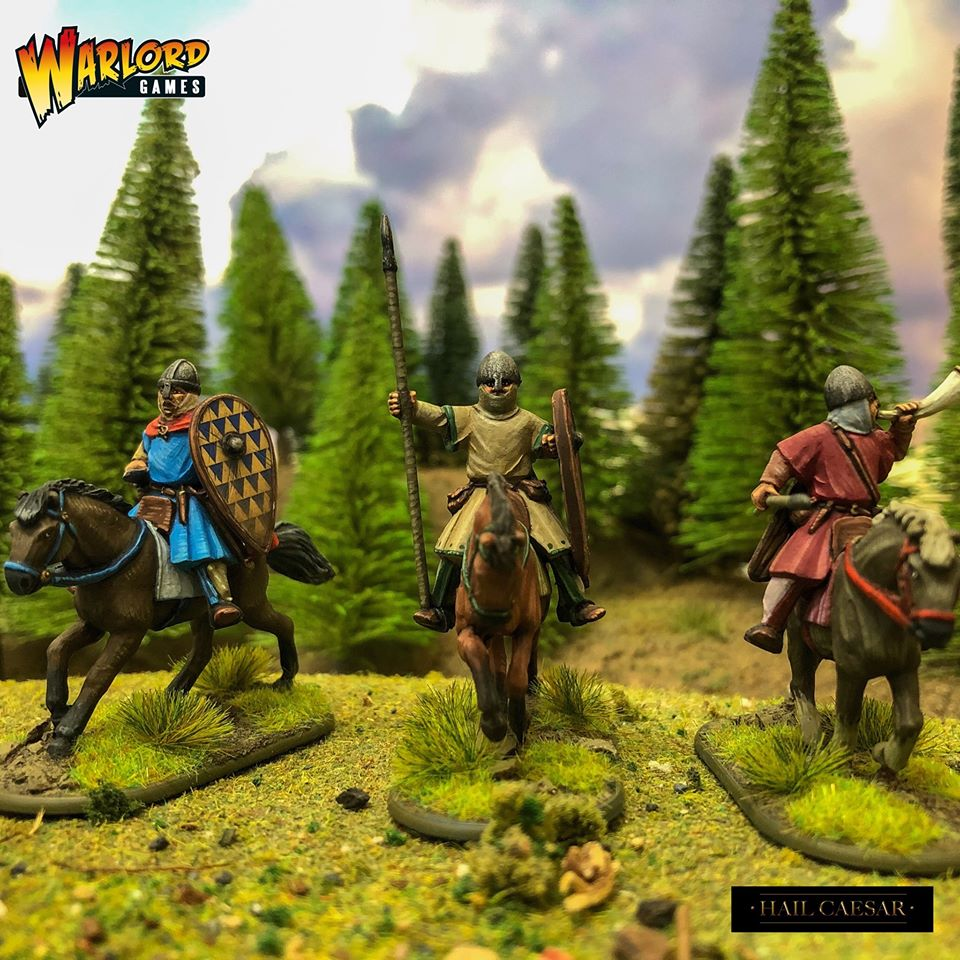 Norman Unarmoured Cavalry Command - Warlord Games.jpg