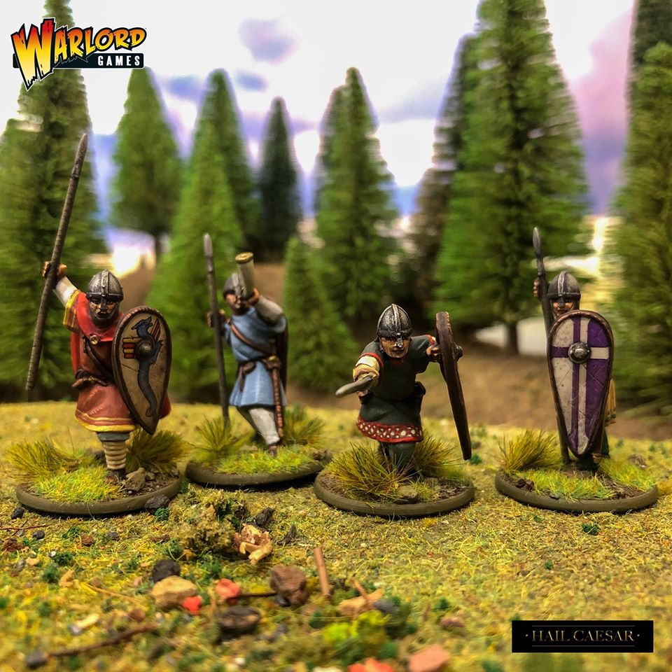 Norman Unarmoured Infantry Command - Warlord Games.jpg