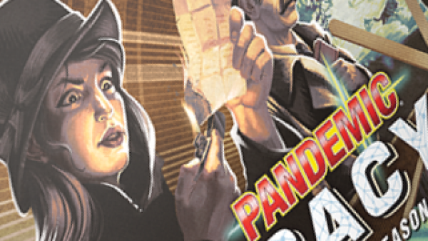 Z-Man Tease Prequel Board Game Pandemic Legacy Season 0