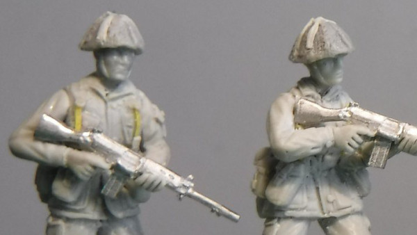 Empress Preview Early Work On 1980s British Soldiers