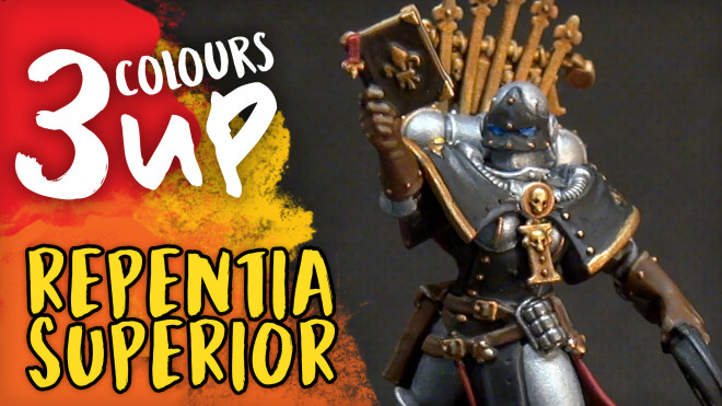 Repentia Superior Miniature Painting Tutorial | Warhammer 40K