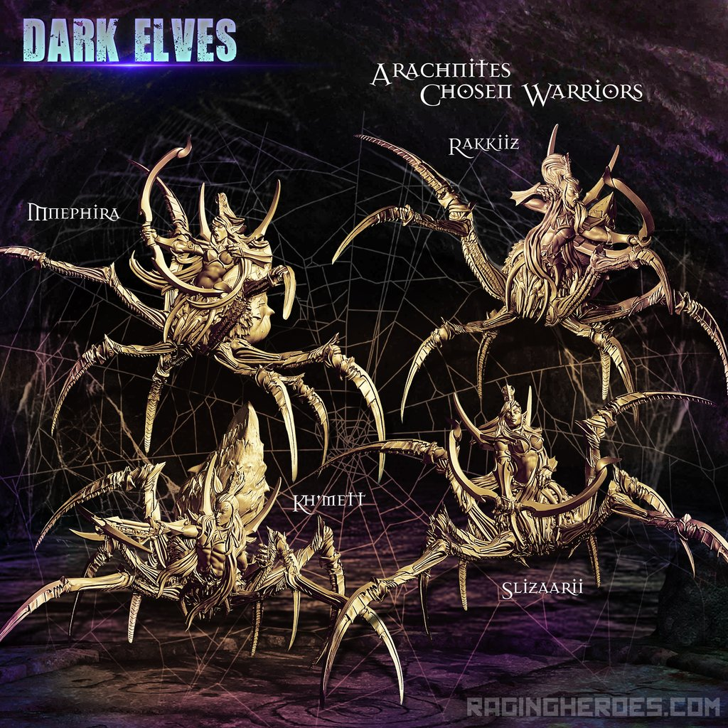 Arachnites Chosen Warriors - Raging Heroes.jpg