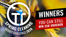 Spring Cleaning Hobby Challenge Winners 2020
