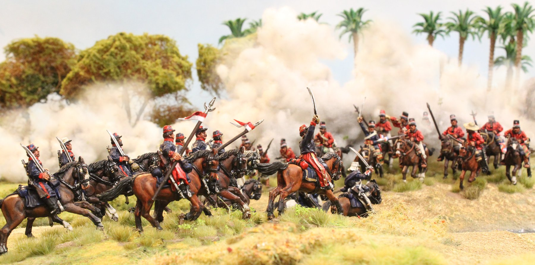 Wars Of The Triple Alliance Cavalry #1 - Perry Miniatures.jpg