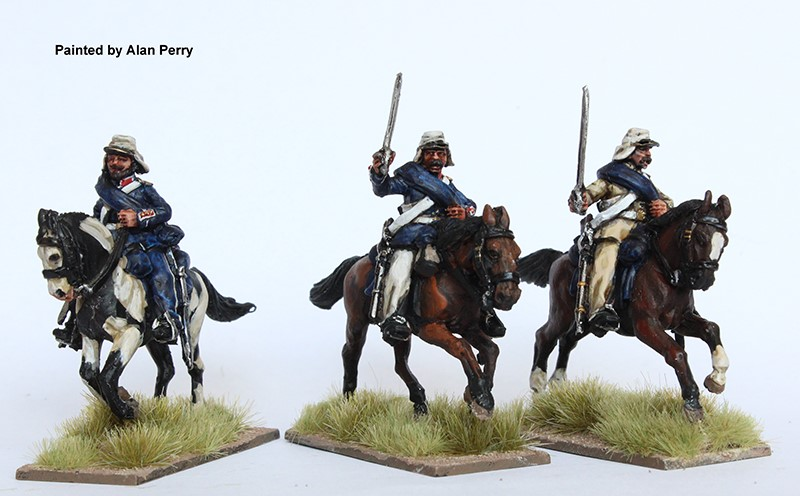 Wars Of The Triple Alliance Cavalry #2 - Perry Miniatures.jpg