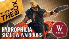 Unboxing: Hydrophilia Shadow Warriors | Syndicate Starter Set