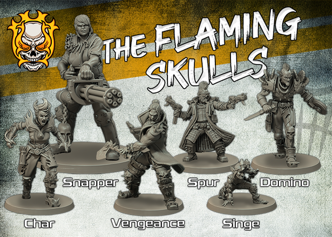 The Flaming Skulls - Fragging Unicorns Games.png