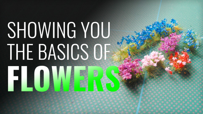Gerry Can Show You How To Add Flowers To Your Bases