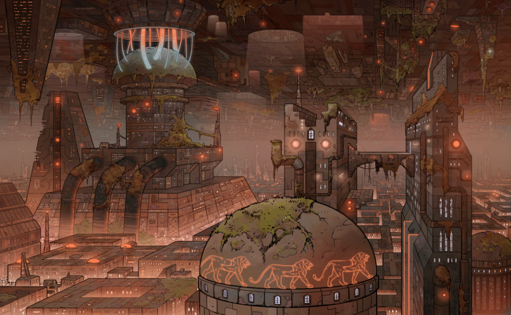 Undercity In The Daytime
