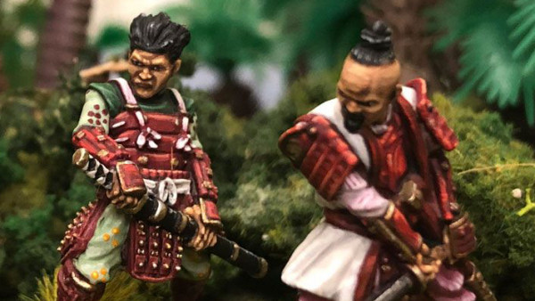 Warlord Games Battle With Their New Daimyo & Oni Ogres