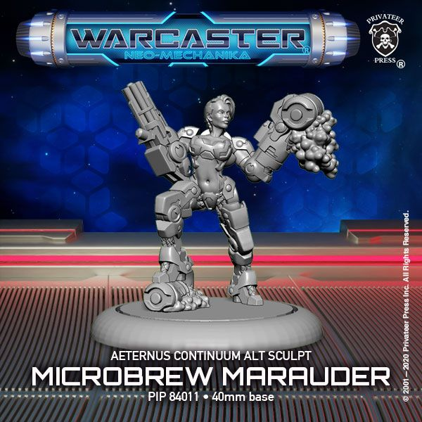 Microbrew Marauder Limited Edition Sculpt - Privateer Press.jpg