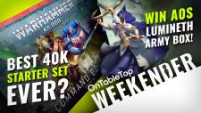 Weekender: NEW Warhammer 40K Starter Sets; The Best Yet? + BIG Star Wars, Marvel Miniatures News!