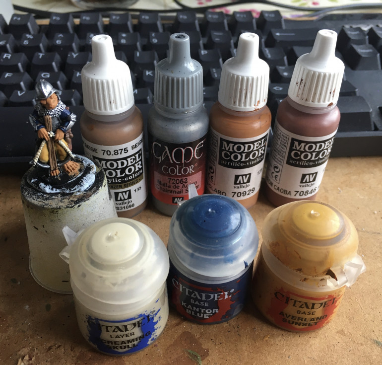 The rest of the base coat colours.