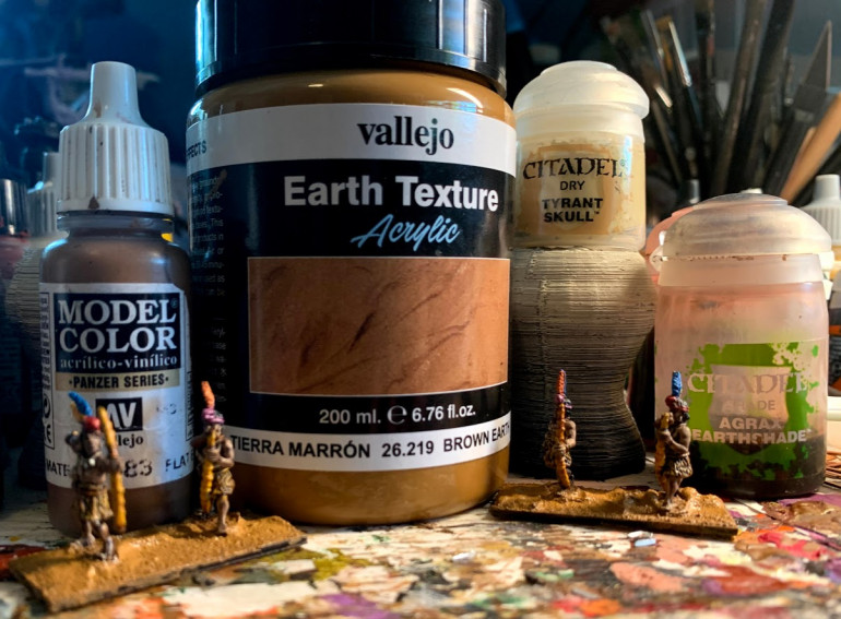 Basing Products Used