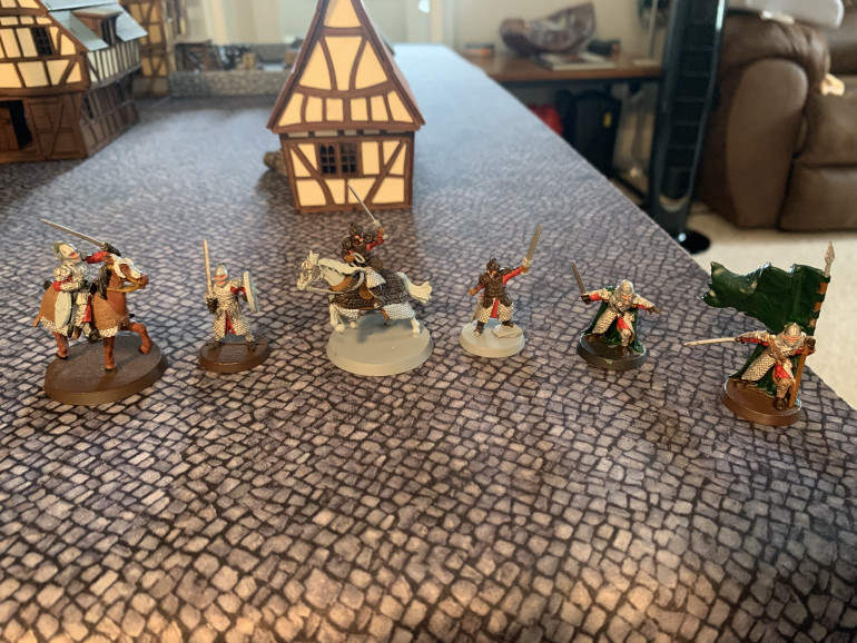 Theoden and Gamling update!
