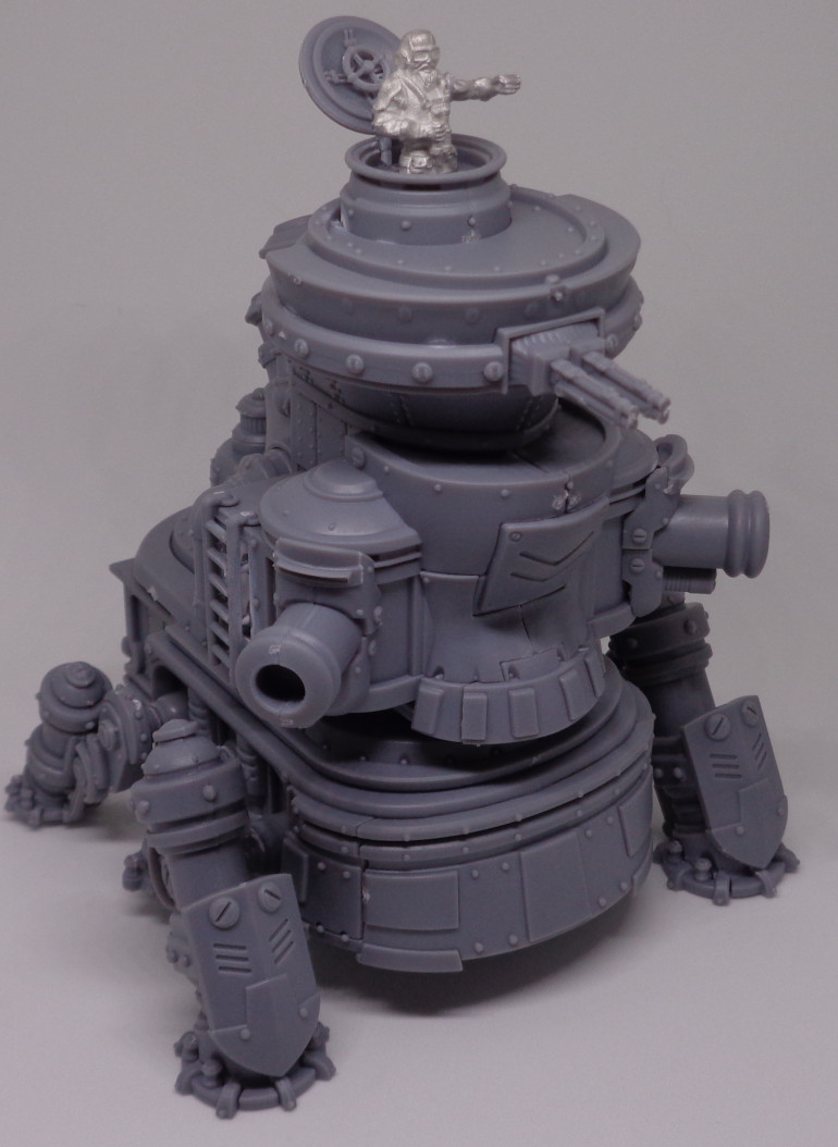 Cogfort (WIP)- repurposed Siege Crawler; can reinforce and buff nearby units