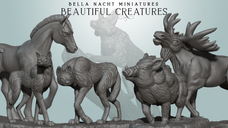 Beautiful Creatures - STL Set for 3D Printing