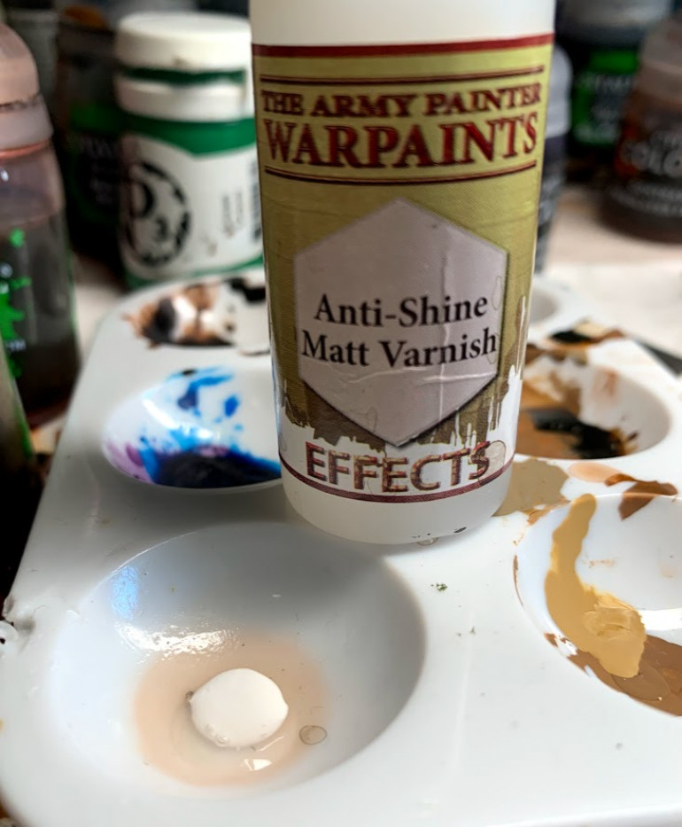 A little tip, some pva glues dry glossy and you can see that under the flock.  I add a little Matte varnish to my white glue along with water.