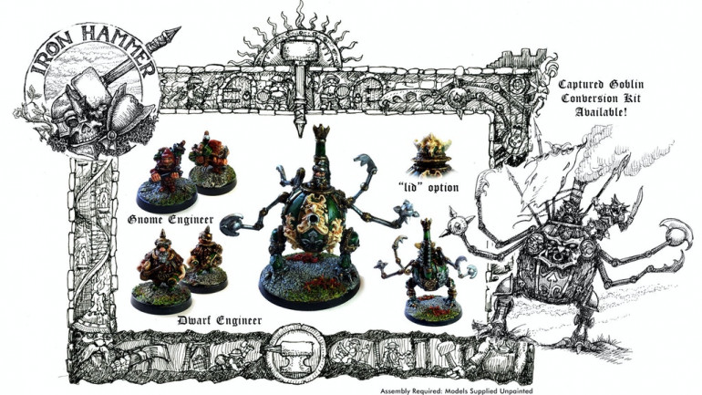 Iron Hammer Miniatures: The Mighty Gnomish War Engine