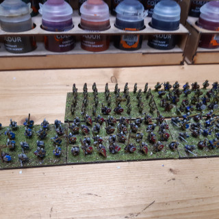 Old school basing and some priming