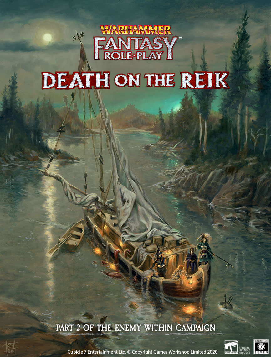 Death On The Reik Cover - Warhammer Fantasy Role-Play