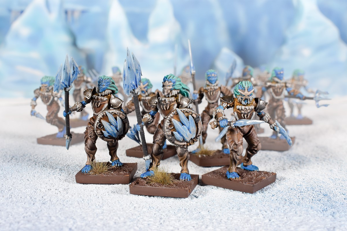 Northern Alliance Ice Naiads - Kings Of War