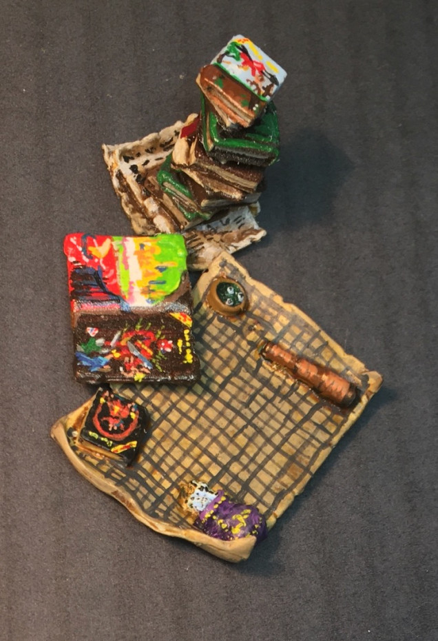 Dungeons and Dragons Books Ready For Game Night