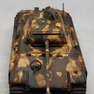 Finishing the Weathering and the Tank