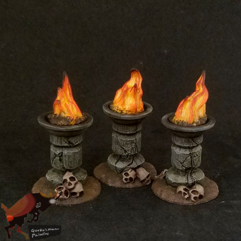 Ogre retiarius and objective markers