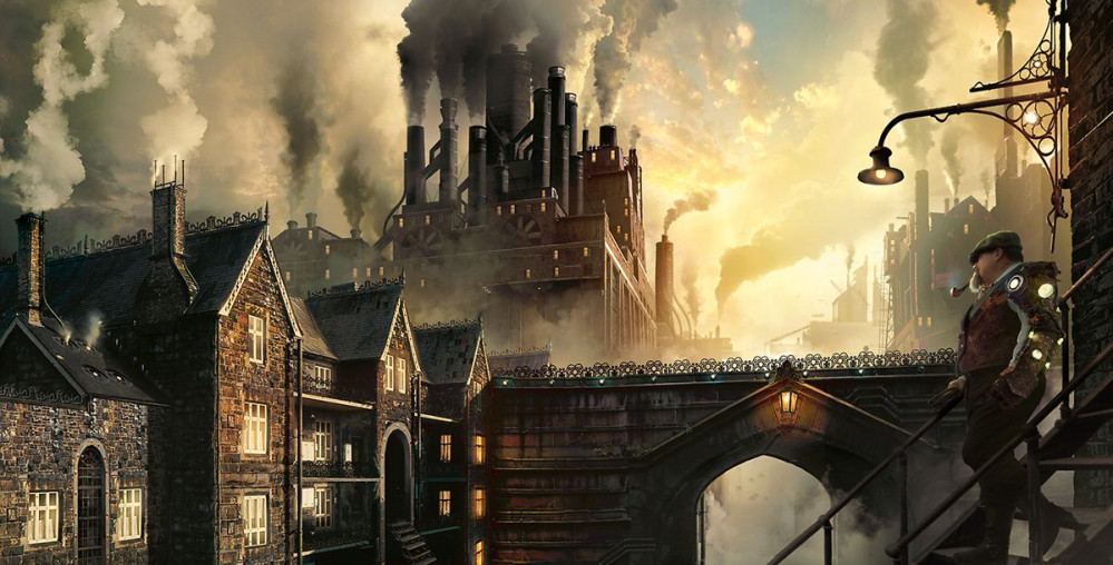 From Hell. Steampunk London in a Multiverse