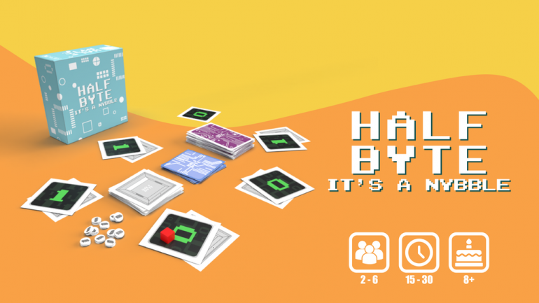 Half Byte! It's a Nybble - A fast pace strategy game.