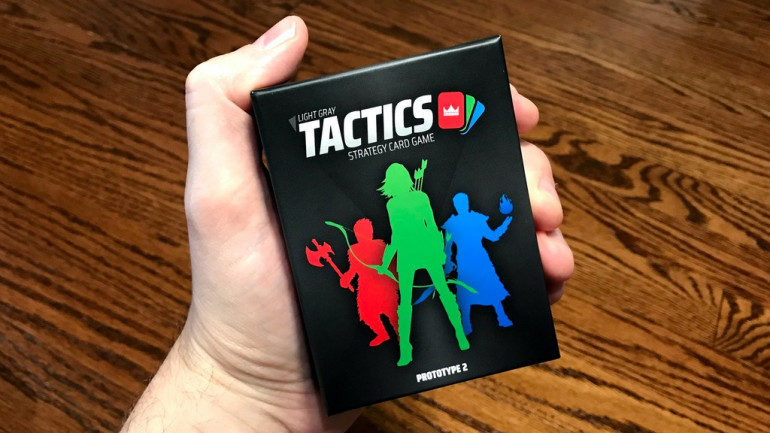 LG TACTICS | Strategy-Lite Card Game
