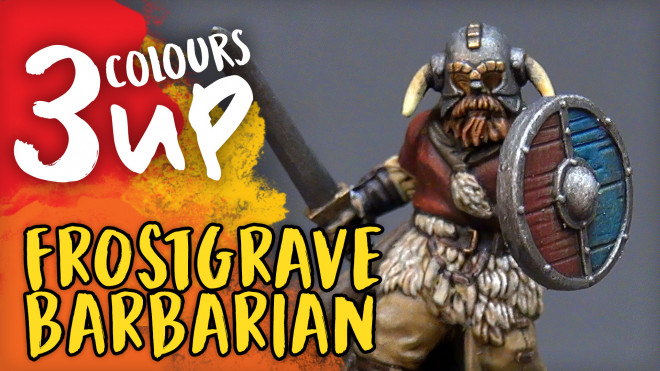 Barbarian Miniature Painting Tutorial | Frostgrave