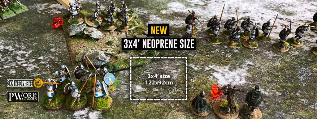 3x4 Neoprene Options Banner - PWork Wargames