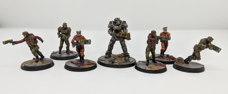 The Brotherhood of Steel Faction starter set.