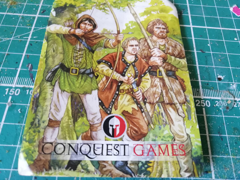 It was finding out that conquest games do robin hood range that got me interested as they do minis that resemble the characters from the show.