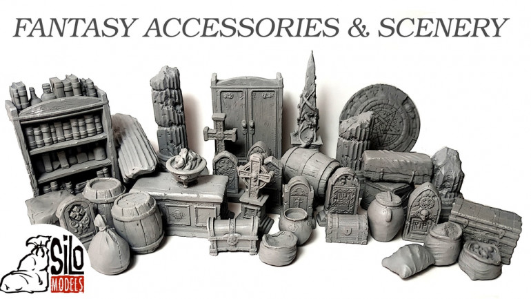FANTASY SCENERY AND ACCESSORIES