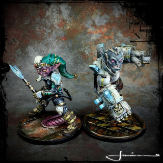 The Gobbo Twins - Cyberpunk Goblins??!! You wot now?!!!