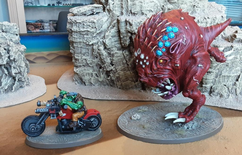 Beware the attack of the giant squig