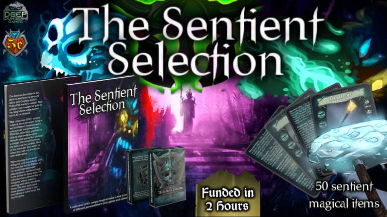 The Sentient Selection - 50 Sentient Magic Items