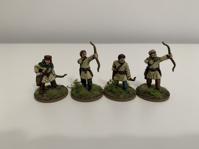 Four-man Group of Archers
