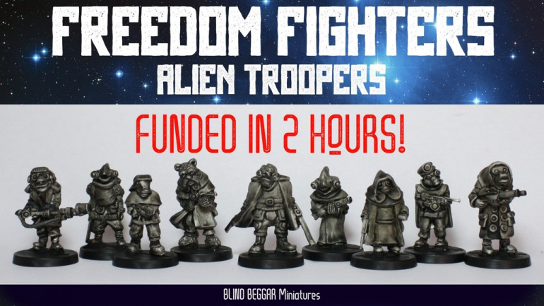 Freedom Fighters: Alien Troopers Combat Squad