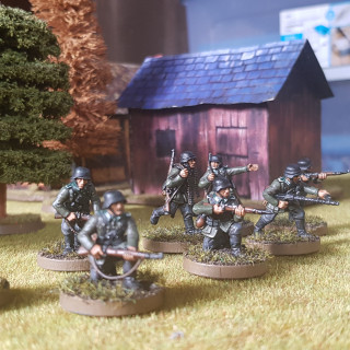 First German Infantry unit