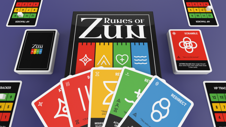 Runes of Zun: Strategy Card Game