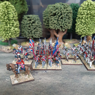 First Infantry Brigade Completed