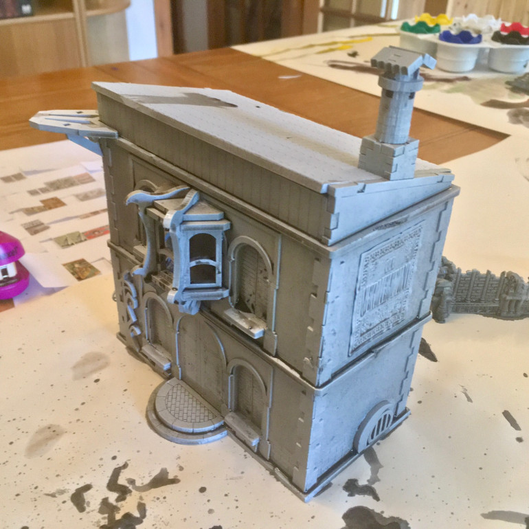 Showing the Bay Window added