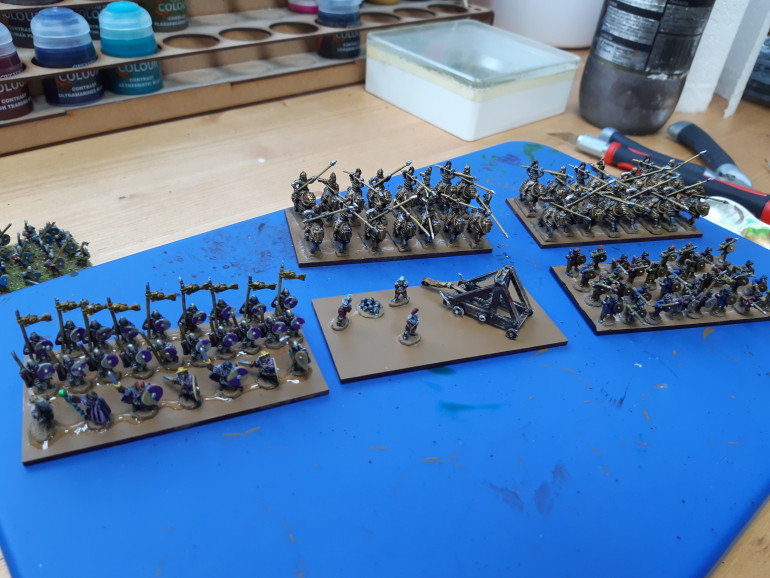 All waiting for varnish.