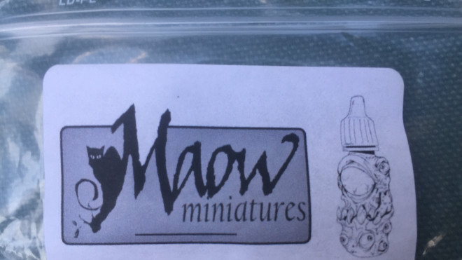 Maow Miniatures – something a bit different…