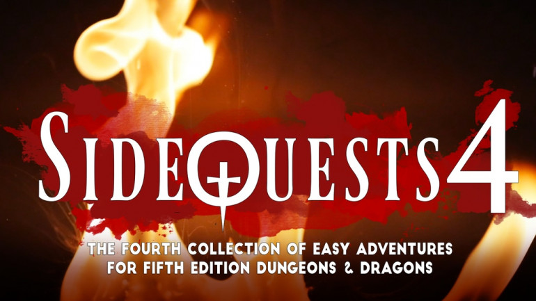 SideQuests 4: Adventure Modules for 5E Dungeons & Dragons
